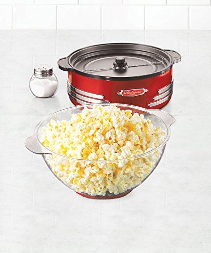 082677412027 - Nostalgia SP300RETRORED Retro Series 6-Quart Stirring Popcorn Popper carousel main 2