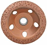 diamondLife 666138 66613 4-1/2 in. 24 Grit Carbide Cup Wheel