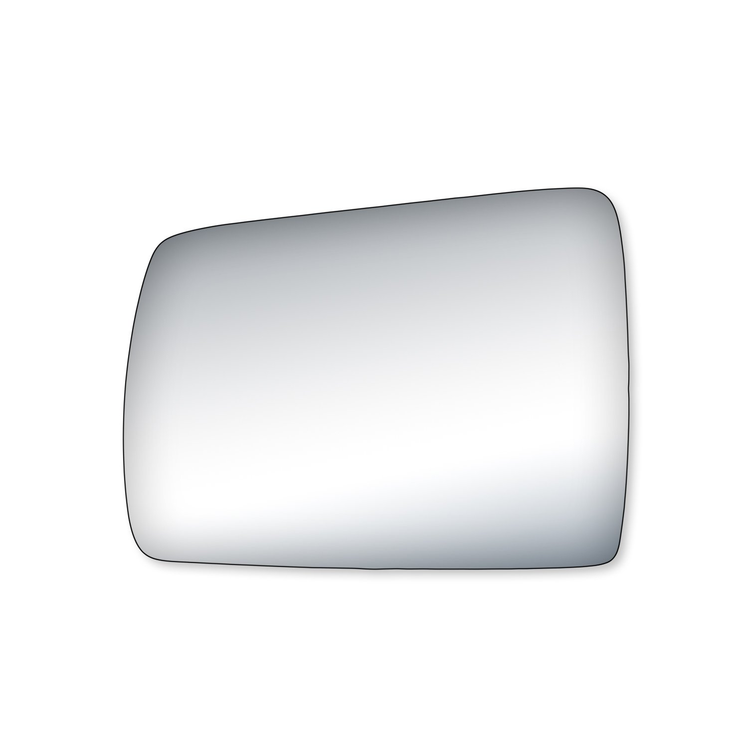 Fit System 90021 Jeep Passenger Side Replacement Mirror Glass