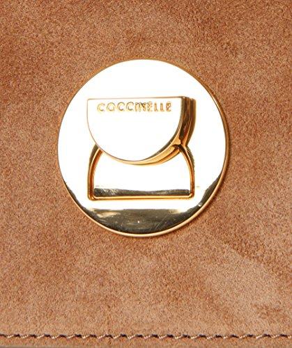 Coccinelle Borsa Donna Liya Suede Pelle camoscio Cuoio