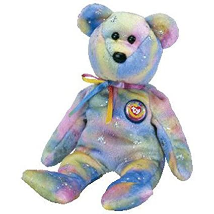 e893dcdddc9 Image Unavailable. Image not available for. Color  TY Beanie Baby - CLUBBY 6  the Bear ...