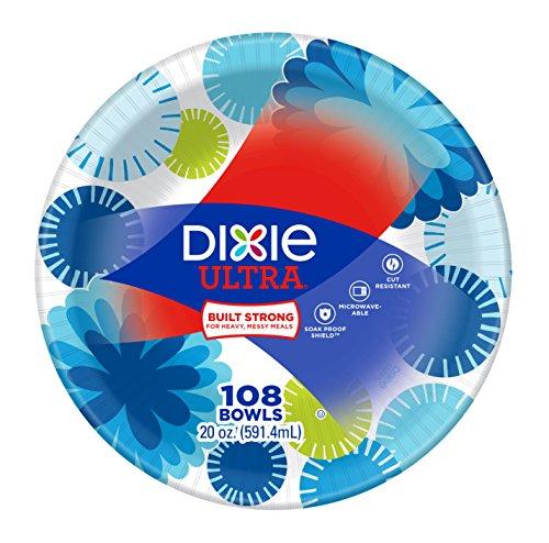 Dixie Paper Bowls - Dixie Ultra Paper Bowls, 20 oz, 108 Count