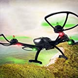 JJRC X2 Brushless RC Quadcopter 2.4G 4CH 6-Axis Gyro Headless Mode,Tuscom@