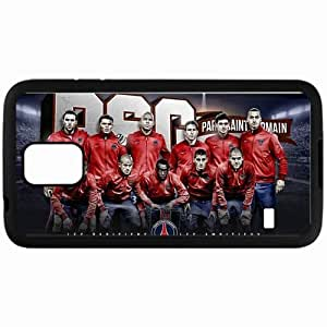 Personalized Samsung S5 Cell phone Case/Cover Skin 2013 beautiful psg team squad Black
