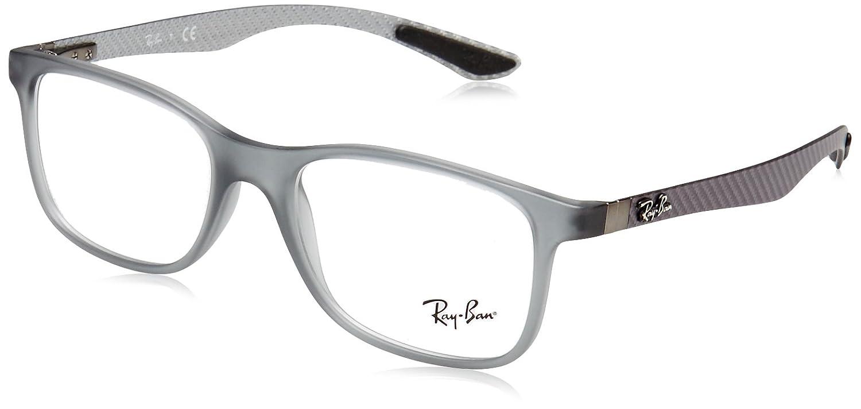 43285664d5 Amazon.com  Ray-Ban Men s 0rx8903 No Polarization Square Prescription  Eyewear Frame