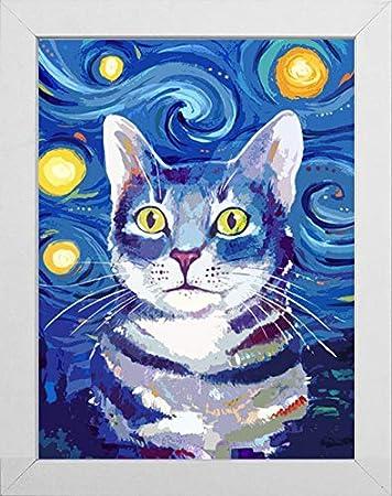 full square diamond painting cats wall art 5d animals magic beads pictures room decor crystal rhinestone stickers diamond dotz kit artworks