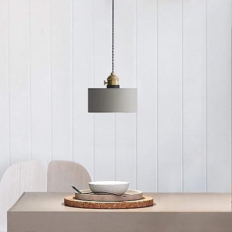 Lámpara Colgante de Techo Iluminación Luz Comedor Salón Vintage Industrial Vintage Doble Interruptor 3W LED Bombilla Substituible (incluida) Material ...