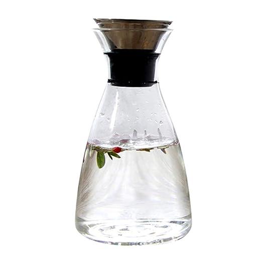 Jarra de vidrio Jarras para Agua Puede Calentar Tetera De Café ...