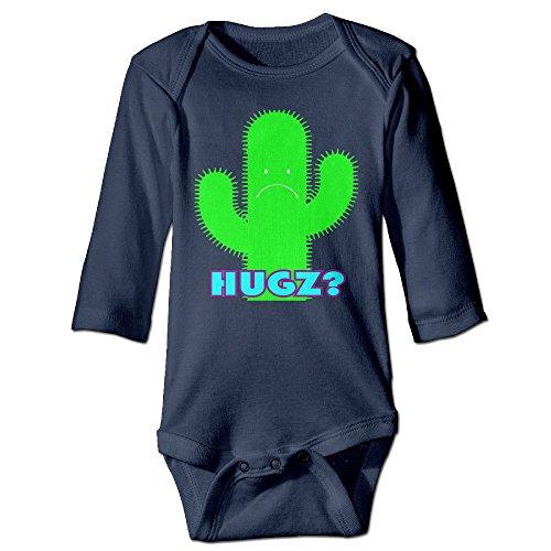 Missone Boy's & Girl's Cute Plant Long Sleeve Bodysuit Baby Onesie (Cute Easy Costumes)