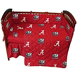 Alabama Crimson Tide 5-Piece Baby Crib Set
