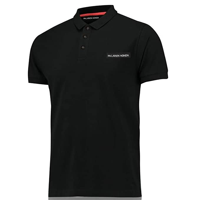McLaren Honda - Polo Grande, Color Negro: Amazon.es: Deportes y ...