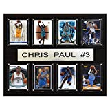 NBA Chris Paul New Orleans Hornets 8 Card Plaque by C&I Collectables