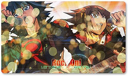 R.O.C.K O.N – Juego de mesa Yugioh Playmat Games Tamaño 60 x 35 cm Mousepad MTG Play Mat para Yu-Gi-Oh! Pokemon Magic The Gathering: Amazon.es: Oficina y papelería