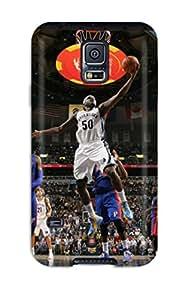 Galaxy S5 Memphis Grizzlies Nba Basketball (17) Print High Quality Tpu Gel Frame Case Cover