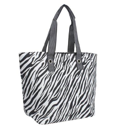 best deals on zebra print handbag products  magid animal print beach shoulder bag zebra one size