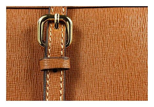 Neue Hand Tasche , Sac pour femme à porter à l'épaule camel 1