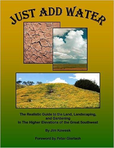 Just Add Water Jim Koweek 9780615174655 Amazon Com Books
