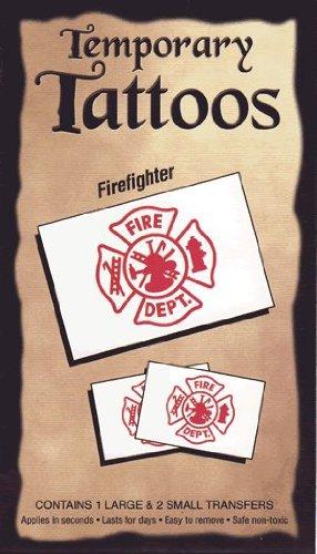 Firefighter tattoo transfers ()
