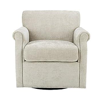 Aldrich Swivel Chair Cream See Below