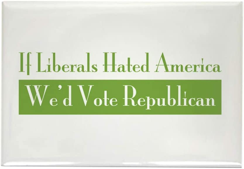"CafePress If Liberals Hated Rectangle Magnet, 2""x3"" Refrigerator Magnet"