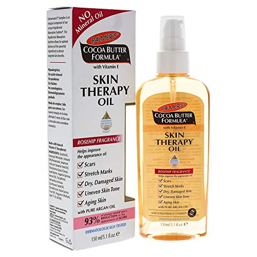 Palmer's Cocoa Butter Formula with Vitamin E Skin Therapy Oil, Rosehip Fragrance, for Stretch Mark and Scar Care, 5.1 Fl ()