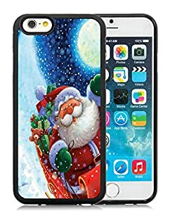Diy Design Case Cover For Ipod Touch 5 anta Claus Black Hard Case 9