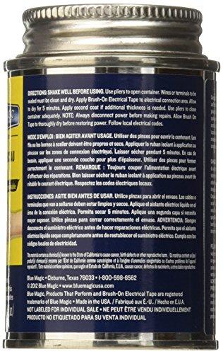 Buy blue magic bot55tri brush electrical tape 12/4oz