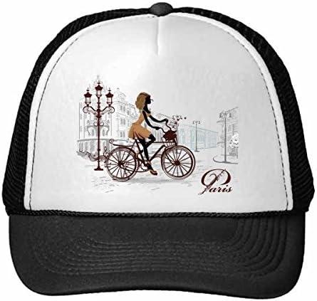 DIYthinker Nylon Gorra de béisbol Mujer en Bicicleta Francia Marca ...