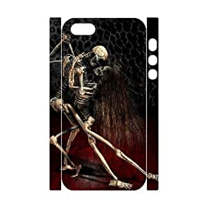 3D Death Tango Skeleton For Iphone 6 4.7 Phone Case Cover White