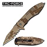 Tac Force TF-729DM-S Tactical Assisted Opening Folding Knife 4-Inch Closed Review