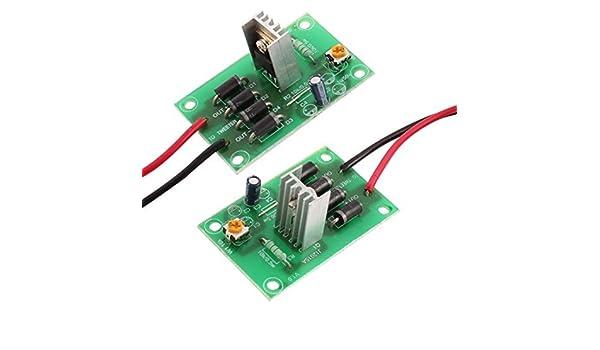 Amazon.com: 2 x placa de circuito de protección de energía del altavoz Hight: Car Electronics
