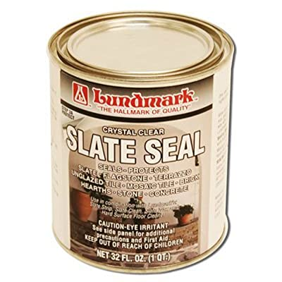 LUNDMARK WAX 3211F32-6 32 oz Crystal Clear Slate Seal by Lundmark Wax