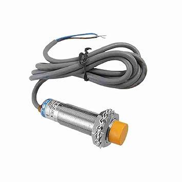 TTcity lj18a 3-8-Z/EX 8 mm, sensor de proximidad, conmutador inductivo NO DC 6-36 V detector: Amazon.es: Bricolaje y herramientas