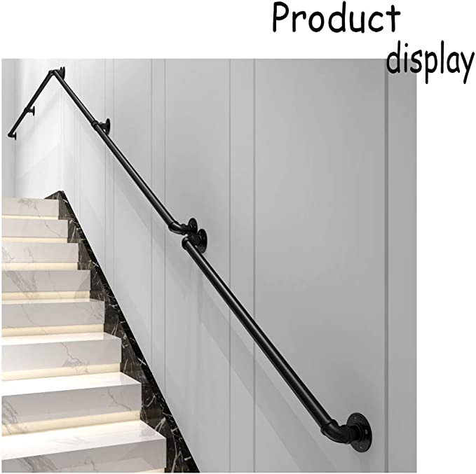 Corridor Stair Handrails Galvanized Iron Old Childrens Attic Bathroom Handrail Indoor and Outdoor Safety Handrails