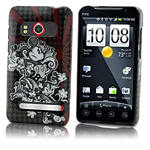 disney officially licensed Houndstooth Mickey Mouse HTC Evo 4G Phone Case
