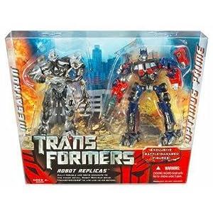 Transformers: The Movie Robot Replicas > Megatron vs. Optimus Prime Action Figure 2-Pack