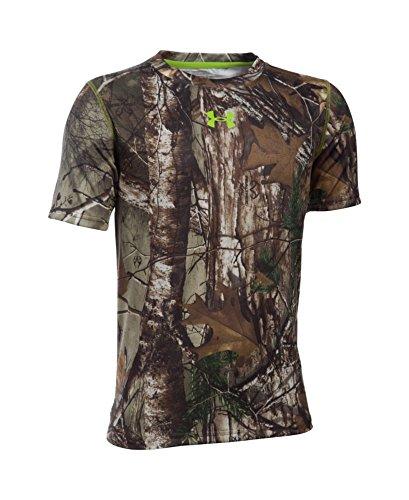Under Armour Boys' Tech Scent Control T-Shirt