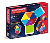 Magformers 63076 Solids Opaque Rainbow 30pc Set Building Kit