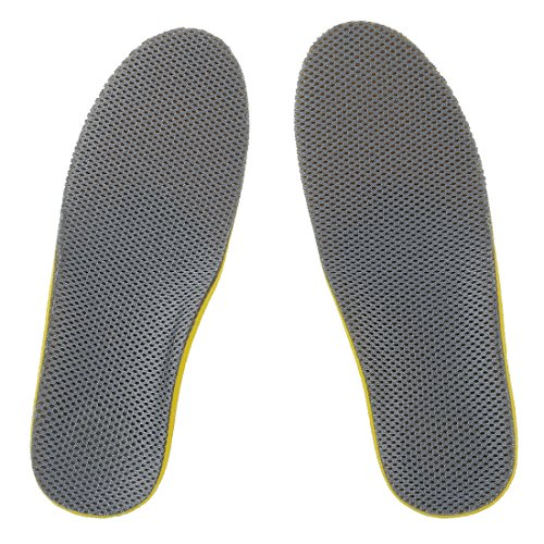 SODIAL(R)Comfortable Orthotic Shoes Insoles Inserts High Arch Support Pad