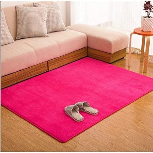 (Fashion Memory Foam Solid Mat Area Rug Bedroom Rugs Mats Carpet Doormat for Hallway Living Room)