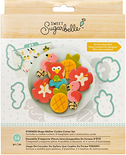 American Crafts 377227 AMC Sugarbelle Summer Cookie Cutter Shifter ()