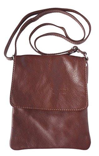 LaGaksta Ashley Very Small Crossbody Bag Brown