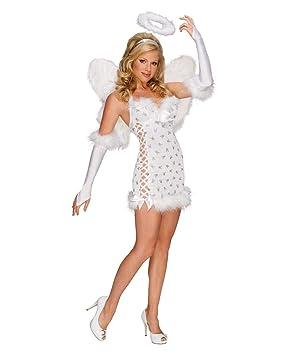 Horror-Shop Sexy Disfraz De ángel Playboy XS: Amazon.es ...