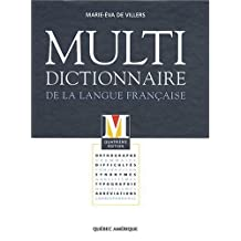 Multidictionnaire langue françai. 4e édi