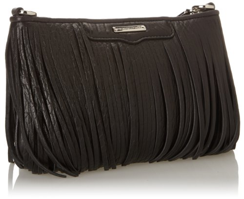 Rebecca Minkoff Finn Cross Body Bag,Black,One Size