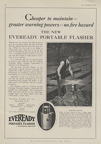 1928-ad-eveready-portable-flasher-dry-battery-replaces-kerosene-lantern-original-vintage-advertising