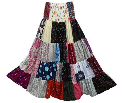Patchwork Skirt - 5