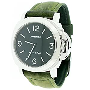 Panerai Luminor automatic-self-wind mens Watch PAM00002 (Certified Pre-owned)