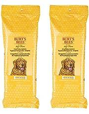 Burt's Bees for Dogs FFP7488AMZ2 Multipurpose Grooming Wipes, Pack of 2