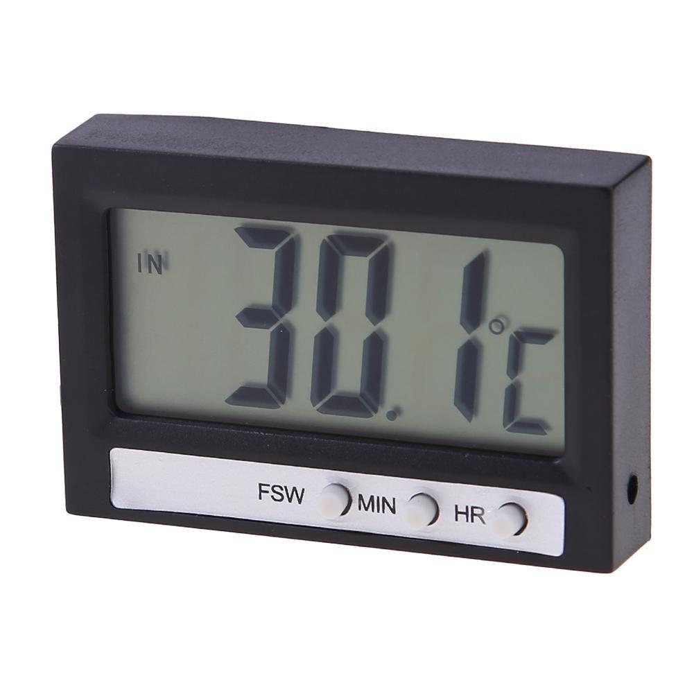 prettygood7 - Termómetro digital para coche (pantalla LCD, alta precisión): Amazon.es: Hogar